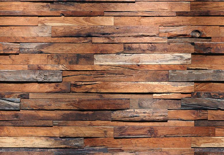 WizardGenius Wooden Wall at Wallpaperwebstore